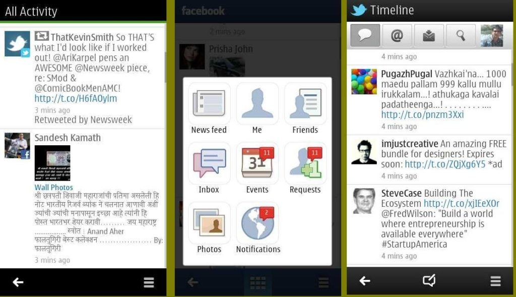 New Social app for Symbian belle