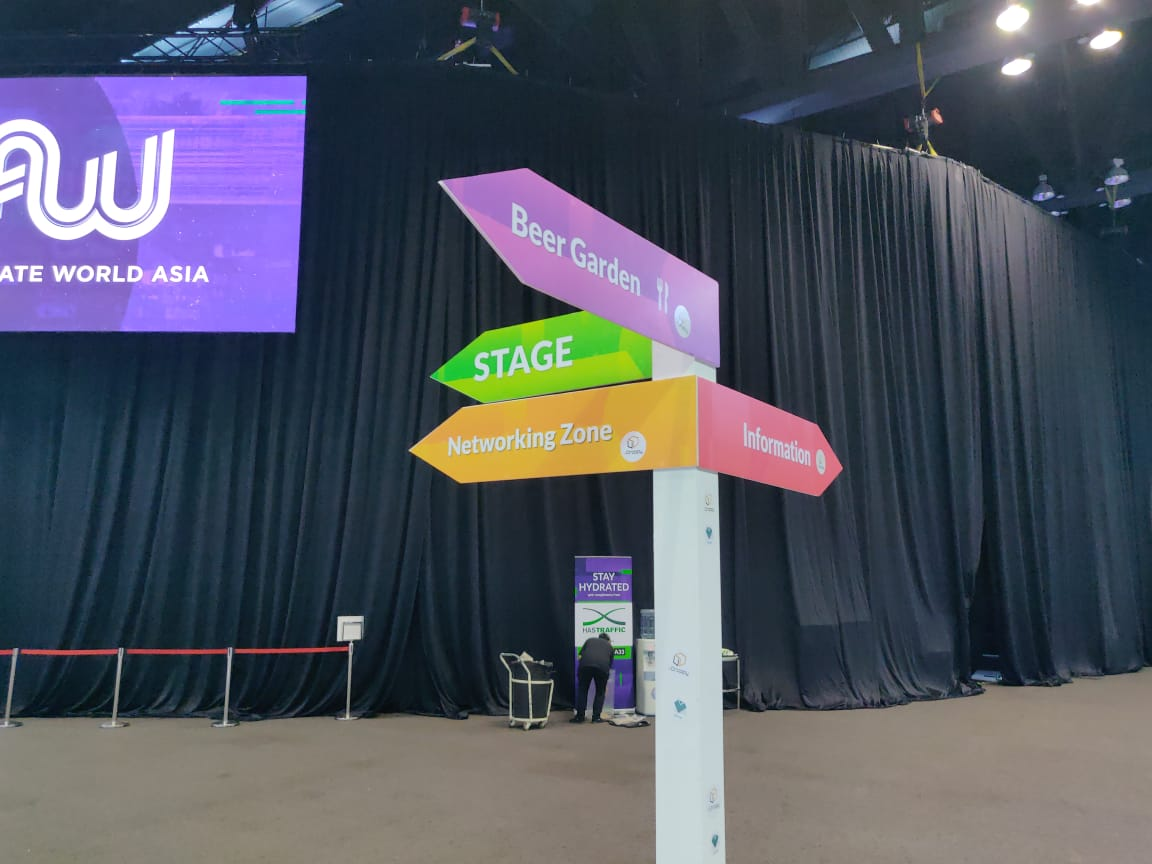 Affiliate World Asia 2018 directions