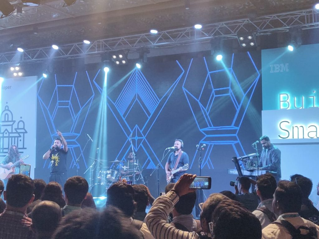 IBM Developer Day 2019 Lagori Band