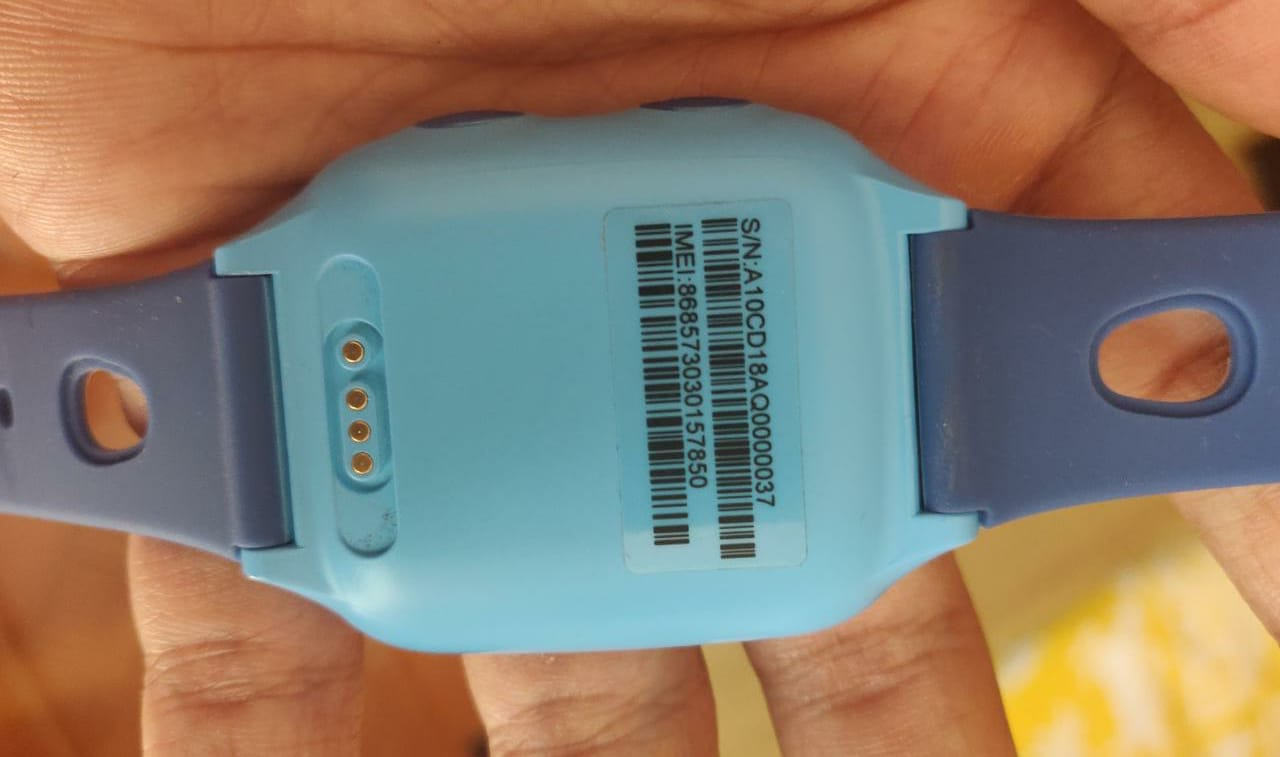 Ojoy A1 4G LTE GPS Smartwatch Backside