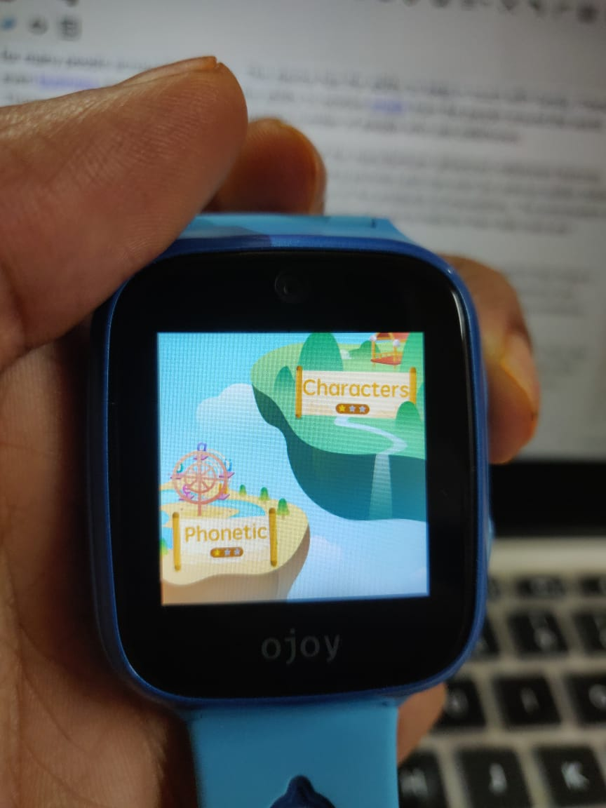 Ojoy A1 4G LTE GPS Smartwatch Learning