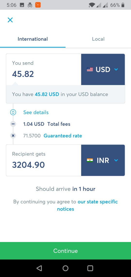 Transfer Funds Abroad Using Transferwise